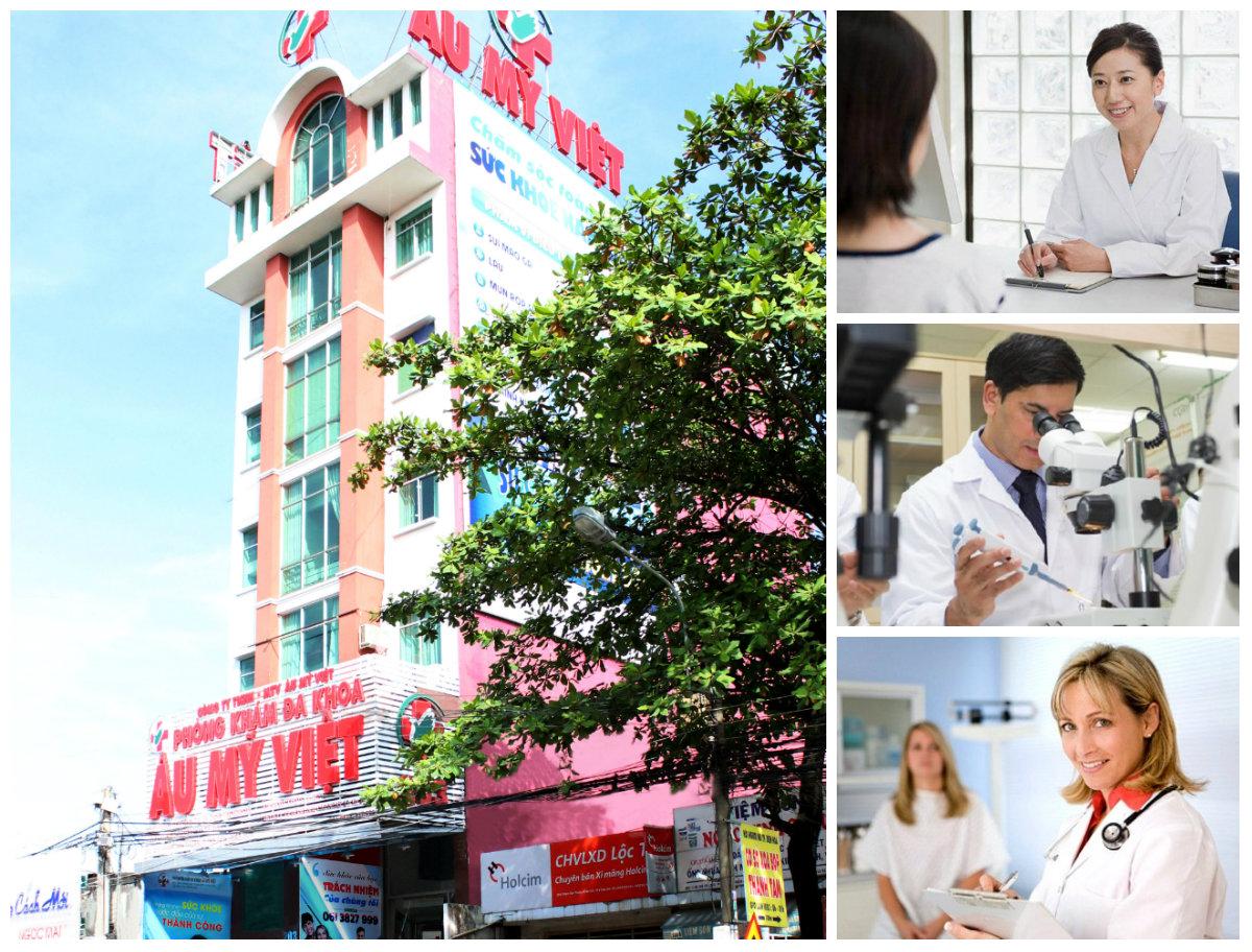 Hãy Đển với Phòng Khám Đa khoa Âu Mỹ Việt để được điều trị đúng phương pháp trong những điều kiện dịch vụ tốt nhất
