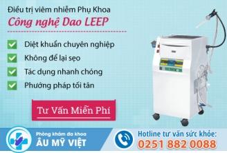Phương pháp Dao Leep chữa viêm lộ tuyến cổ tử cung hiệu quả
